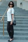 Black-leather-mackage-bag-black-celine-sunglasses