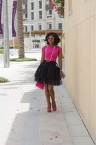 BCBG skirt - Betsey Johnson bag