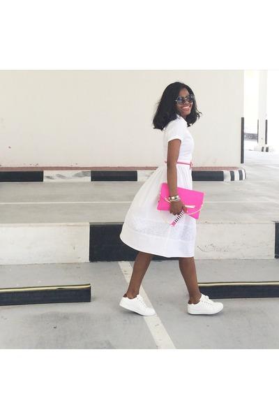 a1e72205ad5 Primark dress - Betsey Johnson bag - Stradivarius sneakers