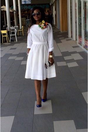 Christian Louboutin shoes - Marie&Stella dress - Tommy Hilfiger purse