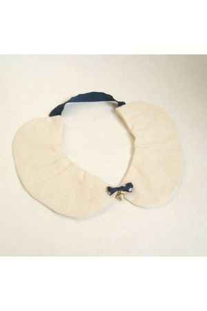 beige peter pan collar accessories