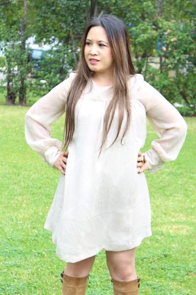 a -line dress H&M dress