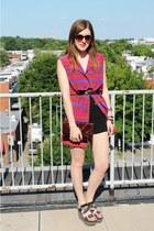 La Petite Marmoset dress - Forever21 shorts