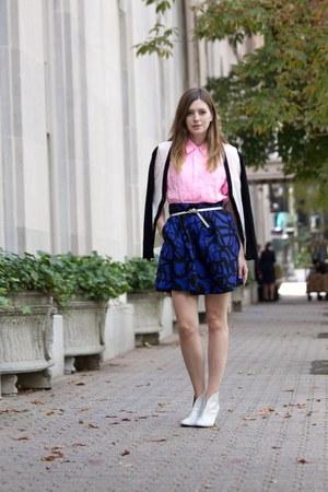 Forever21 skirt - La Petite Marmoset blouse