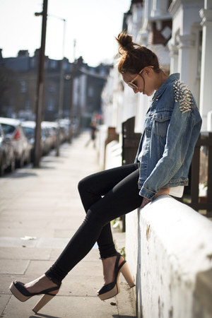 Levis jacket - Zara heels