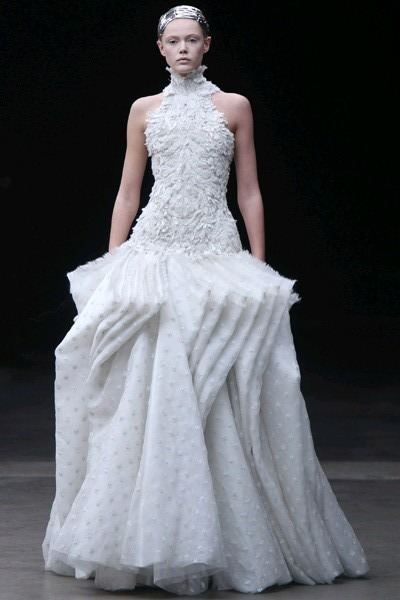 off white Alexander McQueen dress