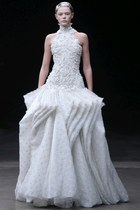 off white Alexander McQueen dress