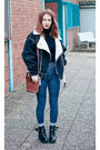 Navy-american-apparel-jeans-black-persunmall-jacket