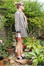 Gray-once-removed-vintage-jacket-navy-american-apparel-dress
