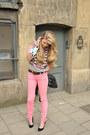 Black-faux-suede-primark-shoes-hot-pink-skinny-dr-denim-jeans