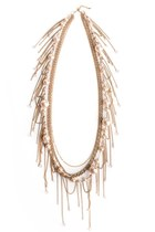Gold-pearls-fringe-lylif-necklace