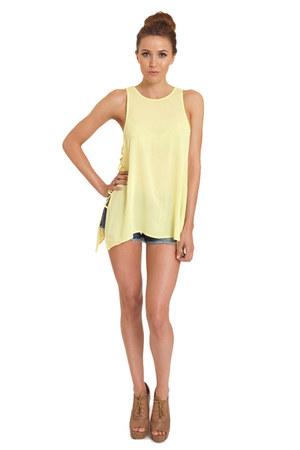 100 rayon Lush Clothing top