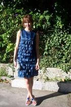 Luella Bartley dress - Casadei shoes - purse