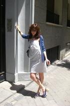 Zara jacket - Maascob dress - Castaer shoes