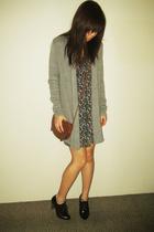 CottonOn sweater - Miusa dress - Sportsgirl purse - unknown shoes