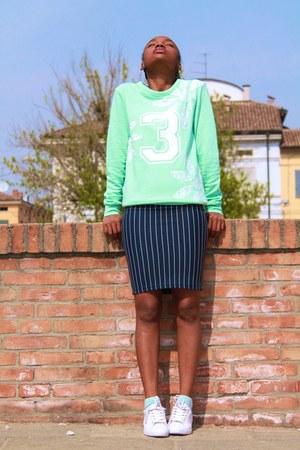 green asos sweatshirt