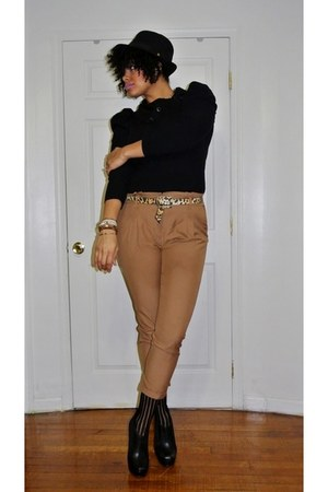 tawny H&M pants