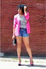 Thrifted-blazer-diy-calvin-klein-shorts-target-belt-tank-top-la-sirena-top