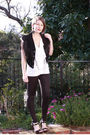 Black-vest-white-barkins-top-black-steve-madden-shoes-black-supre-tights