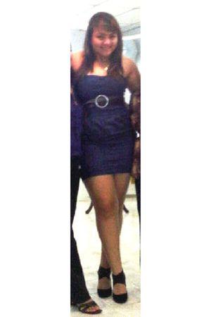black comfy Ecocueros Shoes shoes - blue dark blue dress dress
