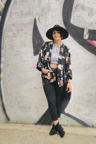 Bakers shoes - American Eagle jeans - Billabong hat - Forever 21 vest - neff top