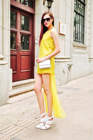 chiffon cotton dress