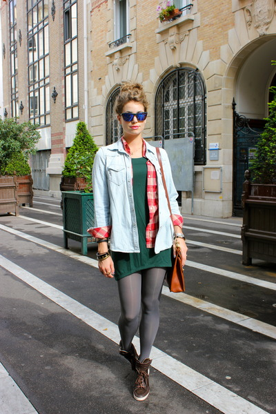 Zara Forest Green Blouse 15