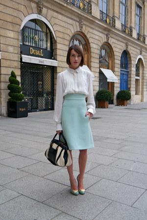 Chloe skirt - Chloe skirt - Chloe bag - Chloe blouse