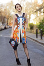 Karen-millen-boots-peter-pilotto-dress-stella-mccartney-bag
