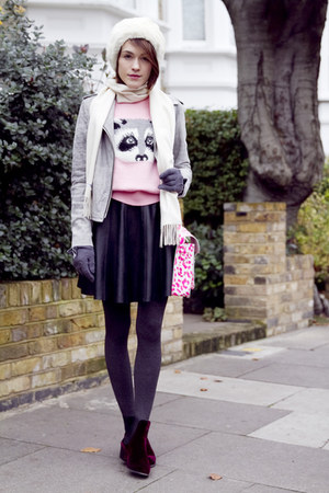 Topshop sweater - Penelope Chilvers boots - Armani Exchange jacket