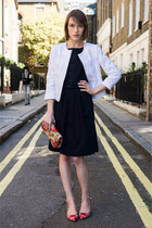 LK Bennett jacket - LK Bennett dress - LK Bennett bag - LK Bennett pumps