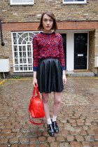 warehouse skirt - Jaeger London bag - Anne Bowes Jewellery necklace