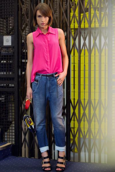 Diesel jeans - PAPER London shirt - Angel Jackson bag - Vince Camuto sandals