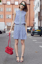 Paul & Joe Sister bag - Hobbs shorts - Hobbs sandals - Hobbs blouse