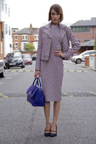 House of Holland jacket - House of Holland dress - Mulberry bag