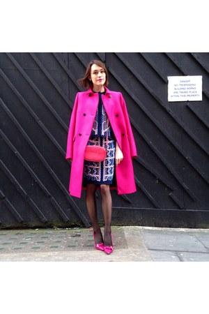 Peter Pilotto skirt - Mulberry coat - Valentino bag - Mulberry heels