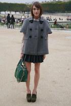 Alice  Olivia bag - Hobbs NW3 blouse - allsaints skirt - redvalentino cape