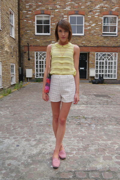 Kate Spade NY bag - Sister Jane shorts - Anne Bowes Jewellery necklace