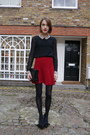 Radley-london-bag-whistles-blouse-swarovski-ring-zara-skirt