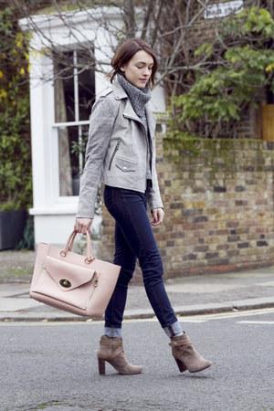 Mulberry bag - Comptoir des Cotonniers boots - J Brand jeans