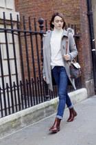 Massimo Dutti boots - Massimo Dutti coat - Massimo Dutti jeans