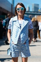 Risto jacket - Cambridge Satchel Company bag - Risto shorts - Wildfox sunglasses
