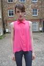 Metallic-j-brand-jeans-paper-london-shirt-hot-pink-guess-bag