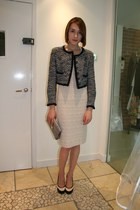 Chanel jacket - alaia dress - Aspinals bag