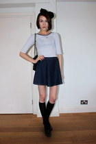 Urban Outfitters bag - Pantherella socks - Anne Bowes Jewellery necklace