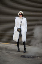 Ralph Lauren coat - Mulberry boots - Ralph Lauren bag - Valentino sunglasses