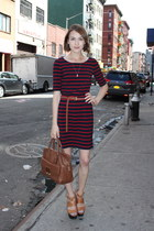 banana republic dress - Anya Hindmarch bag - Anne Bowes Jewellery necklace