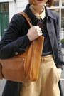 Apc-coat-american-apparel-hat-anya-hindmarch-bag-whistles-shorts