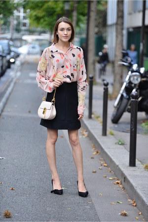 Chloe bag - Chloe blouse - Chloe skirt - Isabel Marant heels