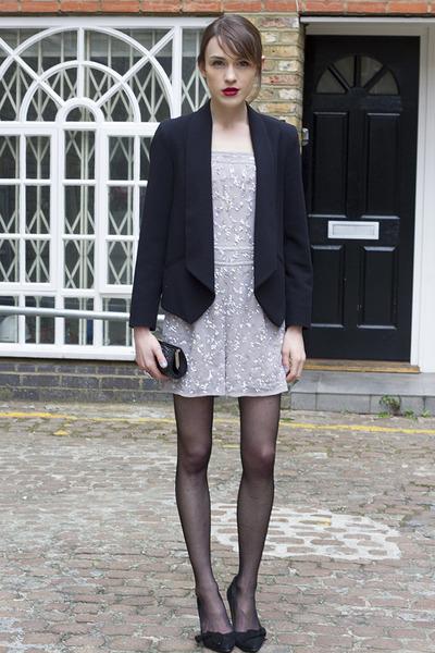swarovski bag - warehouse romper - Isabel Marant heels